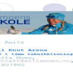 Gavekort Anita Moens skiskole